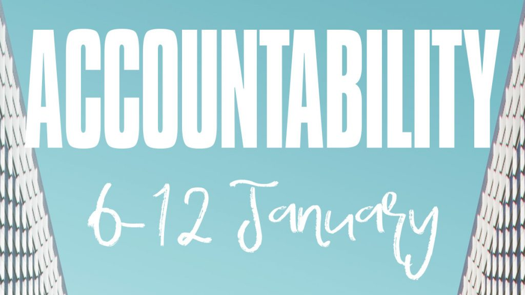 Accountability 6-12 January 2020