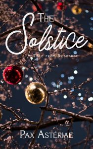 The cover of The Solstice, an m/m romance novella by Pax Asteriae