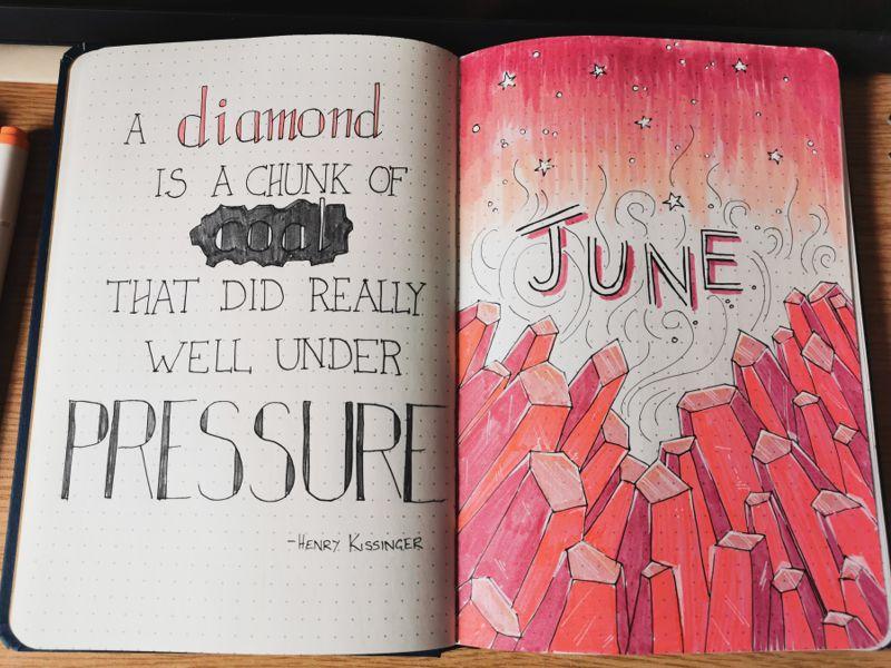 June 2020 Bullet Journal